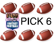 Naughty Fantasy Football PICK 6